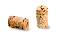 Lièges de vin Images stock