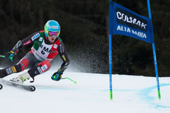 LIGETY Ted (USA). Alta Badia, ITALY 22 LIGETY Ted (USA) competing in the Audi FIS Alpine Skiing World Cup MEN'S GIANT SLALOM Royalty Free Stock Photography