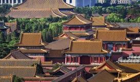Beijing Forbidden City arkivbild