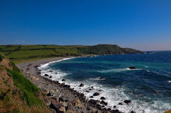 Liggan Cove Cornwall. Rocky beach at Liggan Cove, Cornwall Royalty Free Stock Image