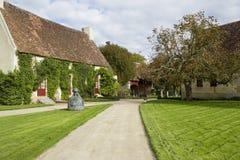 Liggande av den gammala europeiska byn Royaltyfri Foto