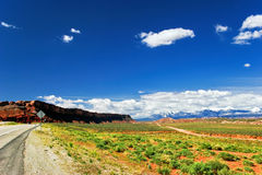 Liggande av det Utah tillståndet. USA arkivbilder