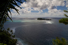 liggande breda samoa Arkivbild