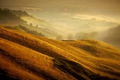 Liggande i Tuscany royaltyfria foton