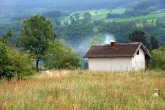 liggande lantliga serbia Arkivbilder