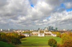 liggande london royaltyfri foto