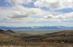 liggande montana Royaltyfri Fotografi