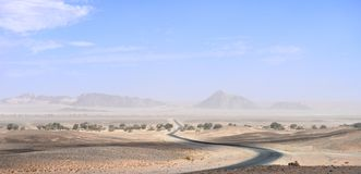 liggande namibia Royaltyfria Bilder