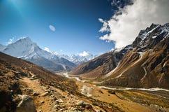liggande nepal Arkivbilder
