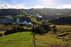 liggande New Zealand Royaltyfri Bild