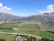 liggande New Zealand Arkivbilder