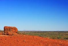 liggande outback Arkivfoto