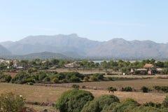 Liggande på ön av Mallorca Royaltyfri Fotografi