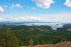 Liggande på den Vancouver ön, BC, Kanada royaltyfri fotografi