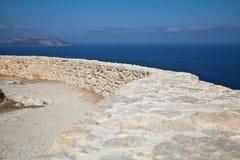 Liggande Rhodes Royaltyfri Foto