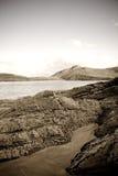liggande scotland Arkivbild
