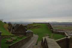 liggande scotland Arkivfoto
