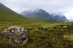 liggande scotland Royaltyfri Bild