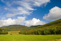 liggande scotland Royaltyfri Foto