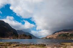 liggande scotland Royaltyfria Bilder