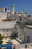 liggande stads- tunis royaltyfria bilder