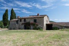 liggande tuscan Arkivbilder