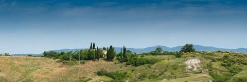 liggande tuscan Arkivfoton