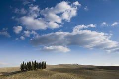 liggande tuscan Fotografering för Bildbyråer