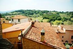 liggande tuscany royaltyfria foton