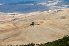 liggande tuscany Royaltyfria Bilder