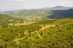 liggande tuscany royaltyfri fotografi