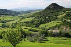 liggande tuscany Arkivfoto