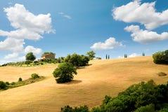 liggande tuscany Royaltyfri Foto