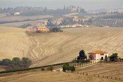 liggande typiska tuscan Royaltyfria Foton