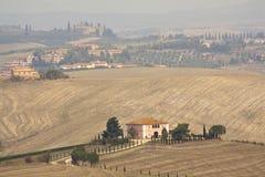 liggande typiska tuscan Arkivbild