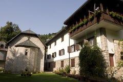 liggandelovnicakloster Royaltyfri Foto