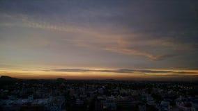 ligganden gjorde den fotorussia skyen vladivostok Fotografering för Bildbyråer