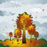 liggandetreesvektor Arkivbild