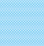 Ligh blue halftone seamless pattern for web design. Royalty Free Stock Image