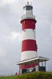 Lighouse de Plymouth en verano Imagen de archivo libre de regalías