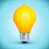 Lighr bulb Stock Photography