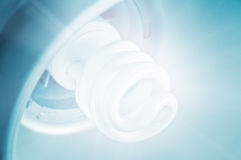 Light. From save bulb closeup royalty free stock image