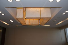 Light. A high-level office space photos Stock Photos