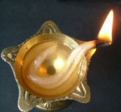 Light. An oil lamp Royalty Free Stock Image