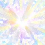Light. Abstract with polygonal structures Stock Photos