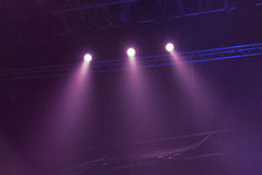 Light. From the scene during the concert Royalty Free Stock Photography
