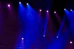 Light. From the scene during the concert Stock Photography
