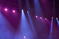 Light. From the scene during the concert Royalty Free Stock Photo