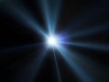 Light. Concert lighting against a dark background ilustration Stock Images