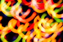 Light. Multi colored abstract Christmas light royalty free stock images